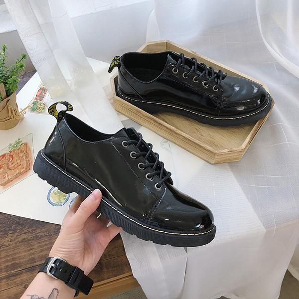 Men Formal Slip On Lace Up British Style Casual Shoes