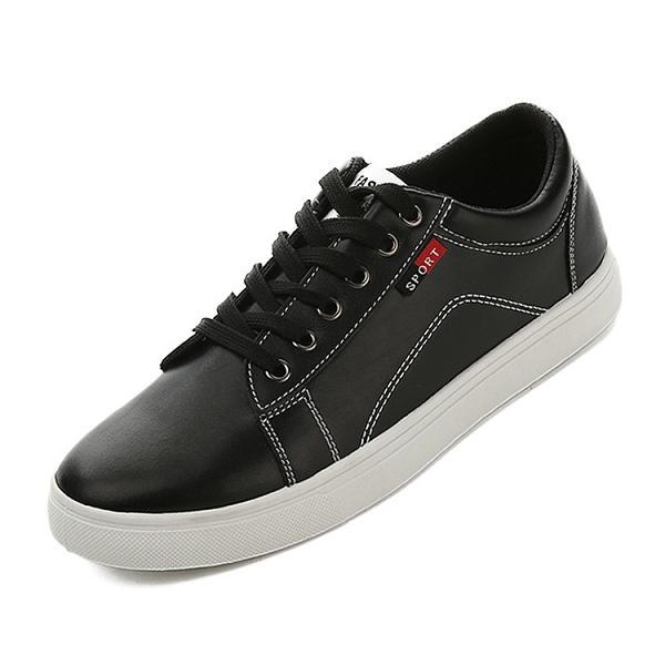 Men Lace Up Wear Resistant Casual Shoes