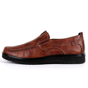 Large Size Men Comfy Casual Microfiber Leather Oxfords Shoes