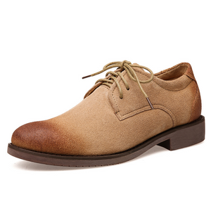 Men Handmade Vintage Suede Casual Shoes