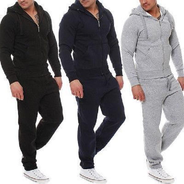 Hoodie Coat and Pants Sport Sets