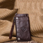 Men's Multifunction Genuine Leather Wallet