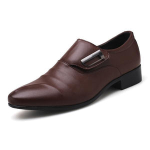 Large Size Men Ponited Toe Business Dress Shoes