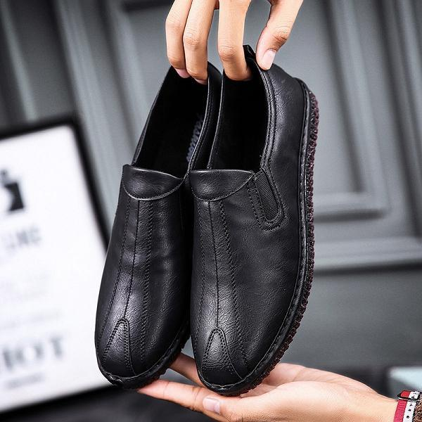 2018 New British Style Men Casual Business Shoes