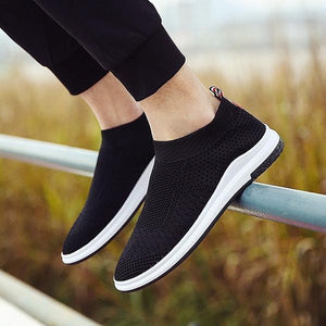 Men Breathable Mesh Casual Sneakers