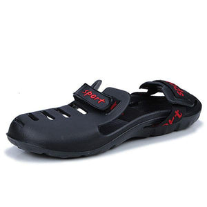Men Outdoor Beach Elastic Waterproof Sandal Shoes