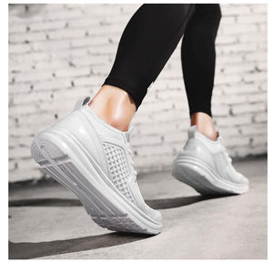 Large Size Men Mesh Fabric Breathable Casual Running Sneakers