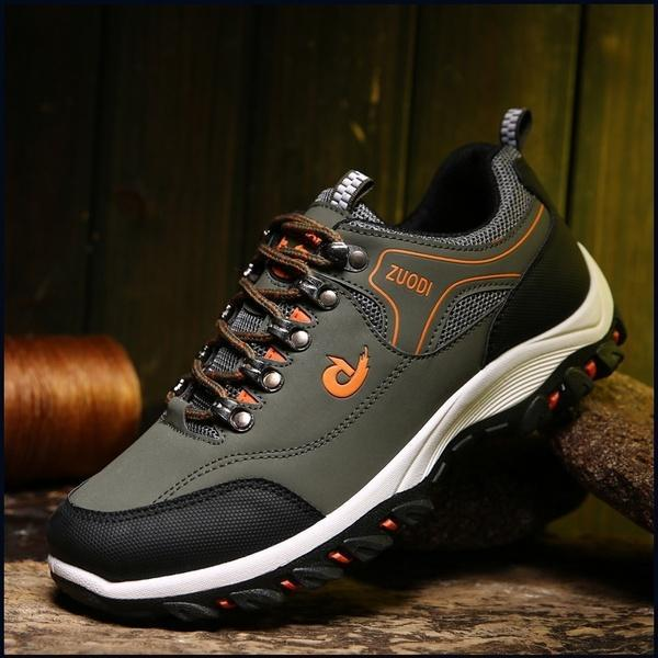 Men Mesh Outdoor Non-slip Casual Sports Hiking Shoes