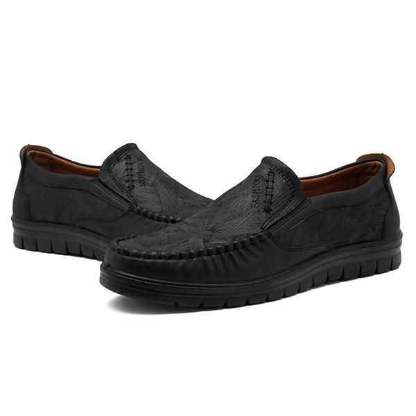 Men Shoes for Microfiber Leather Casual Comfy Oxfords