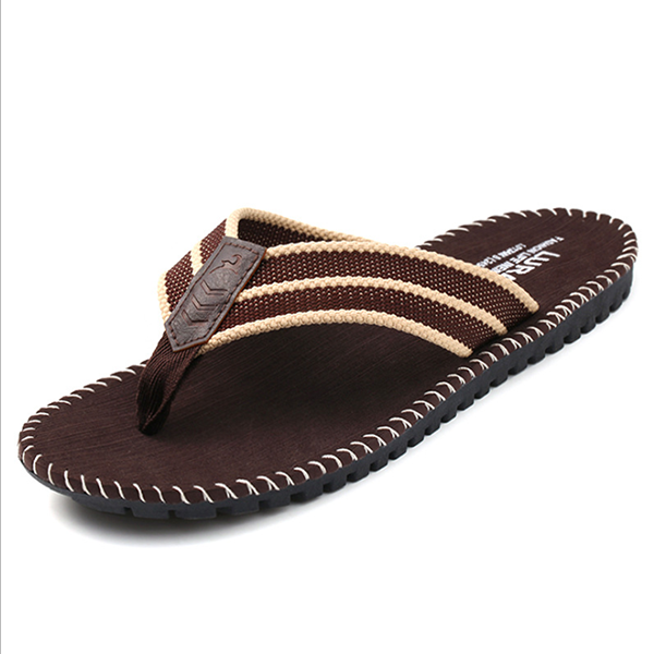 Men's summer comfortable non-slip flat breathable beach shoes flip flops