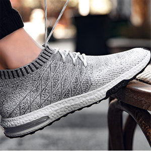Hot Sale Breathable Mesh Summer Men Casual Shoes Slip On Male Fashion Footwear Leisure Light Colorful Shoes Mens