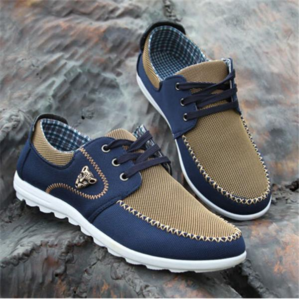 Men High Quality Soft Comfortable Canvas Shoes