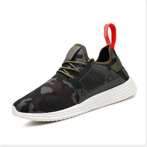 Mens Running Shoes Breathable Mesh Male Sneakers Lightweight Sport Shoes