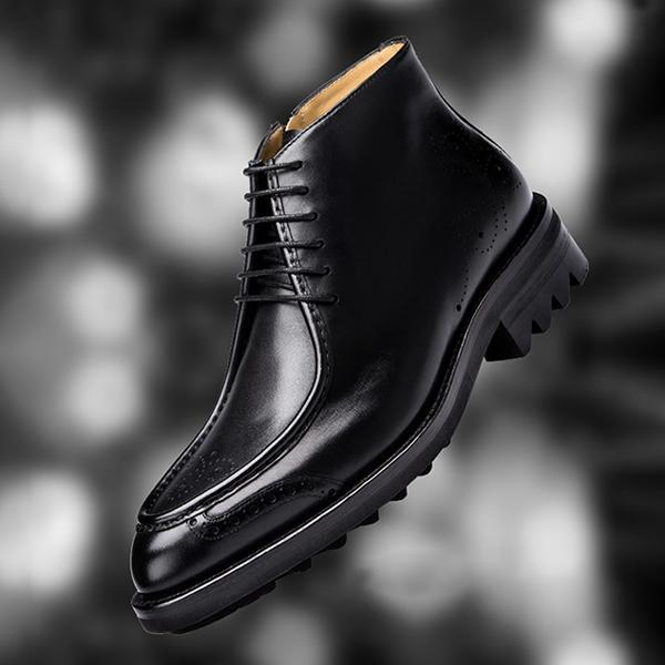 Handmade Customized Men Leather Boots