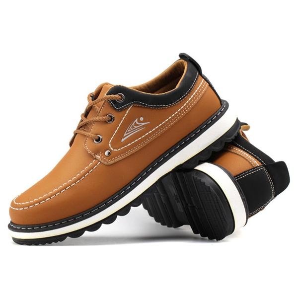 Men Classic Work Style Lace Up Causal Shoes