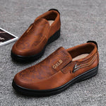 Large Size Comfy Microfiber Leather Casual Oxfords Soft Shoes