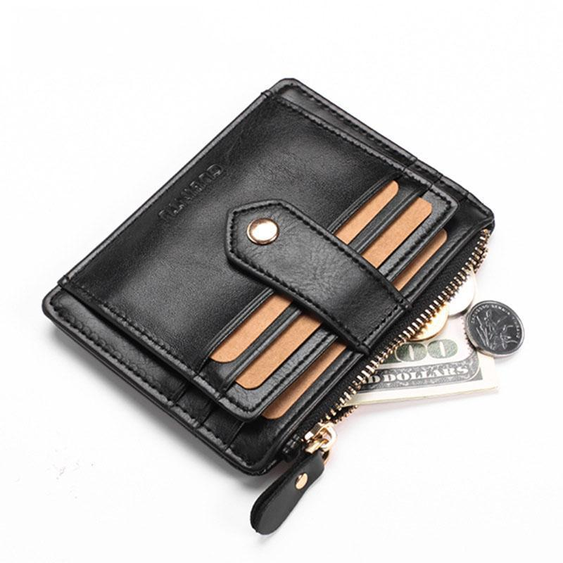 Men's Quality PU Leather  Card Holder Wallets