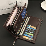 Men's Multi-Functional Long Clutch Wallet