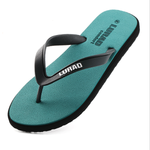Men's flip-flops summer anti-skid outdoor slippers men's casual trend rubber beach shoes