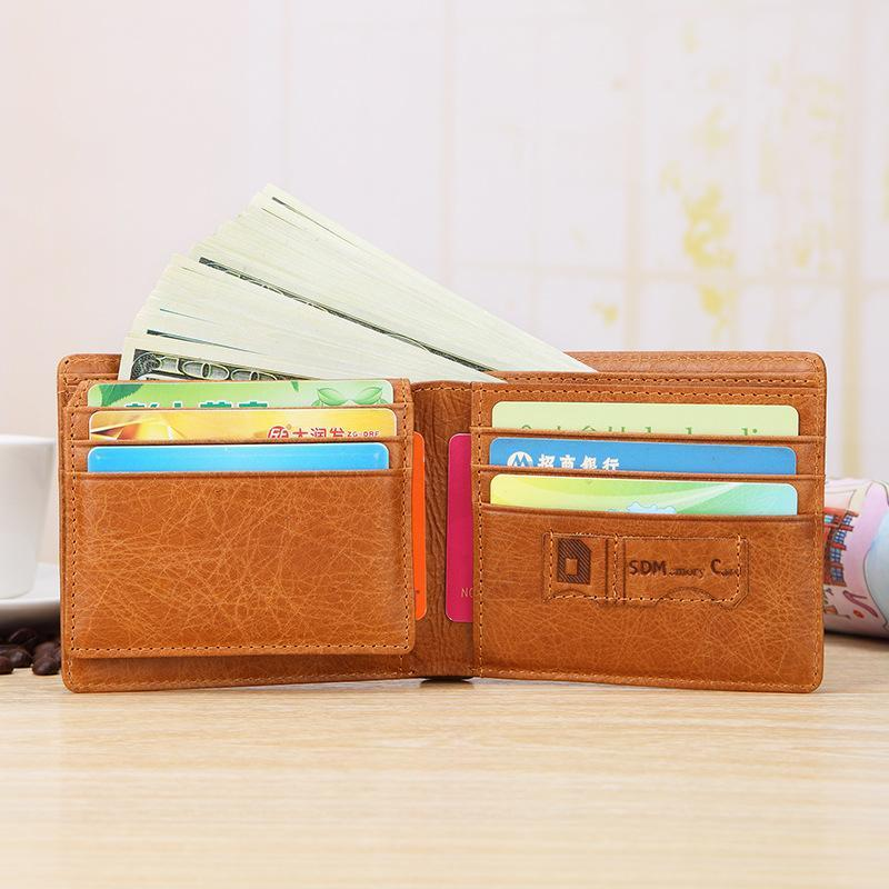 Men's Multi-Function Leather Wallet
