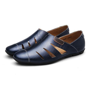US Size6.5-11.5 Mens Casual Genuine Leather Outdoor Shoes