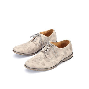 Men Goodyear Handmade Retro Leather Casual Shoes