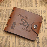Men's Vintage Buckle Wallet
