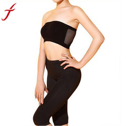 Fashion Strapless Top Vest Breathable Crop Top