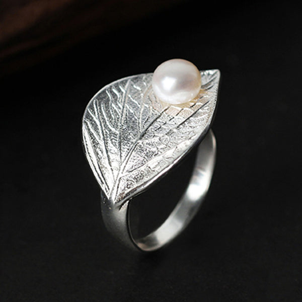 Lotus Silver Vintage Natural Pearl Fashion Jewelry