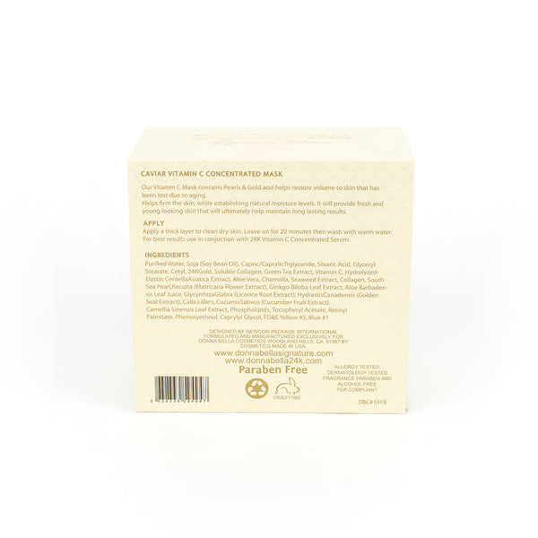 Vitamin C Concentrated Mask