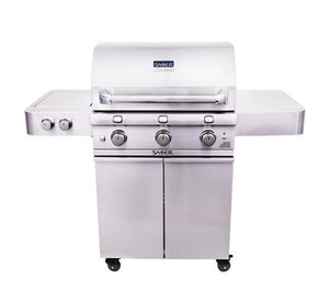 Saber 500 Stainless Steel 3-Burner Gas Grill