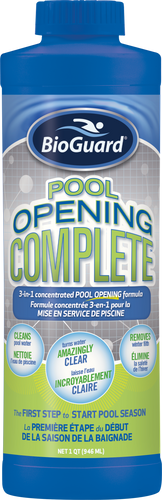 Pool Opening Complete