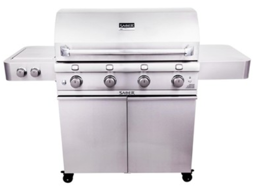 Saber 670 Stainless-Steel 4-Burner Gas Grill