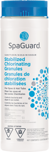 Stabilized Chlorinating Granules
