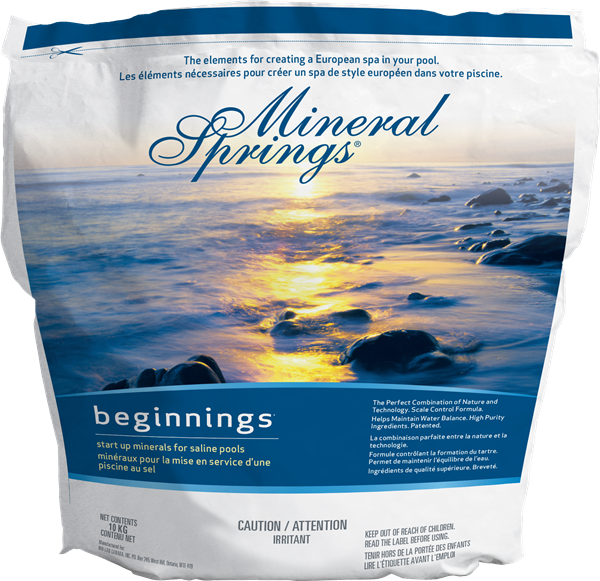 Mineral Spring Beginnings Salt