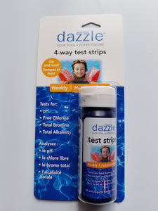 Dazzle 4-in-1 Test Strips