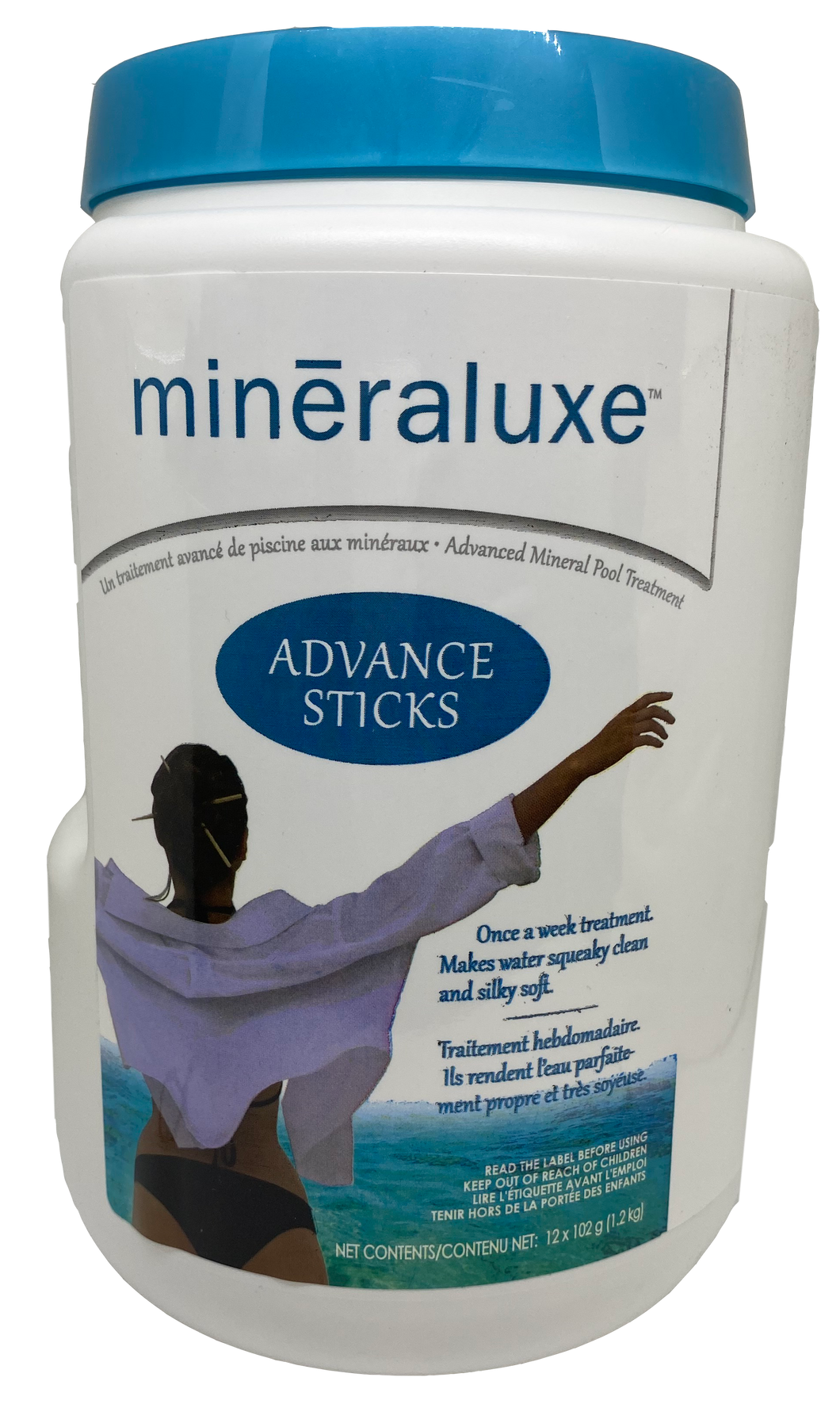 Mineraluxe Advance Sticks for Pools (x12)