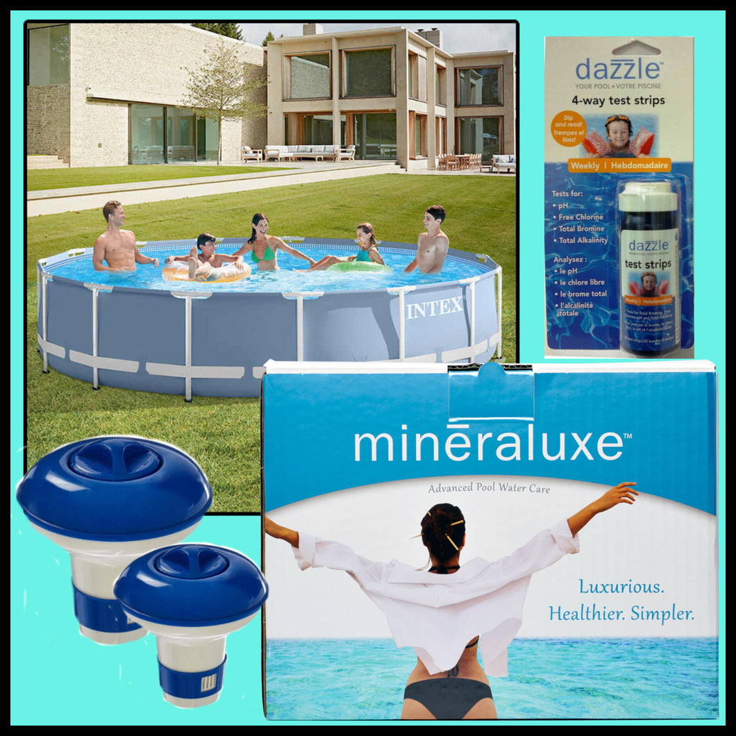 Easy Set Pool Water Care Package