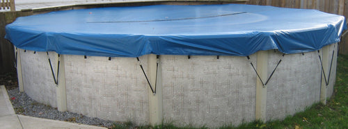 18' Round Eliminator Winter Pool Cover for Above Ground Pools