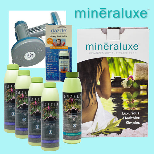 Mineraluxe Hot Tub Water Care Package
