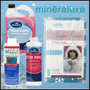 Mineraluxe Pool Closing Water Care Package
