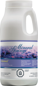 Mineral Springs Renewal
