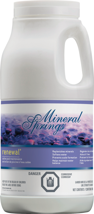 Mineral Springs Renewal - Case of 4