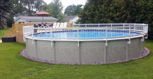 Above Ground Pool-top Fence