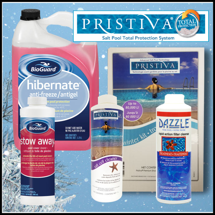 Pristiva Pool Closing Water Care Package