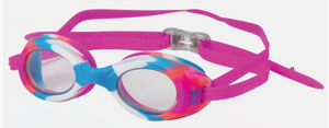 Stingray Swim Goggles - Adult - Clear/Pink