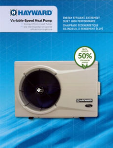 Hayward Variable-Speed Heat Pump 70,000 BTU
