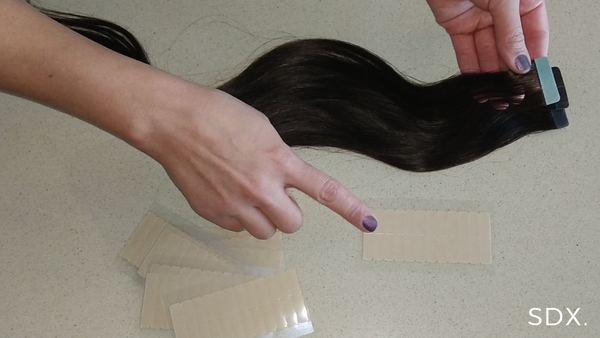 [How To:] How to re-tab my Tape in Hair Extensions
