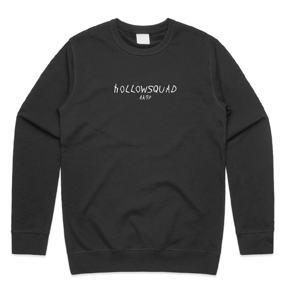 Scribble Embroidered Crewneck Sweater