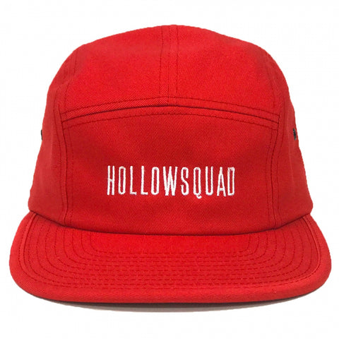 Official Hollowsquad Camp Cap - Red
